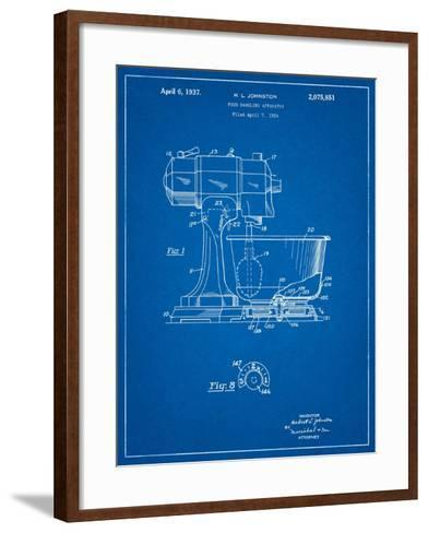 Kitchenaid Kitchen Mixer Patent-Cole Borders-Framed Art Print