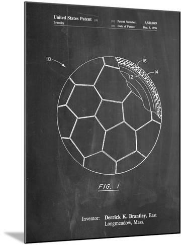Soccer Ball Layers Patent-Cole Borders-Mounted Art Print