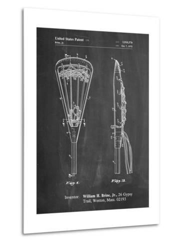 Lacrosse Stick 1936 Patent-Cole Borders-Metal Print