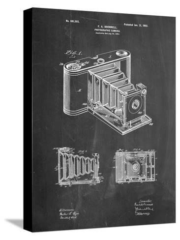 Kodak Pocket Folding Camera Patent-Cole Borders-Stretched Canvas Print