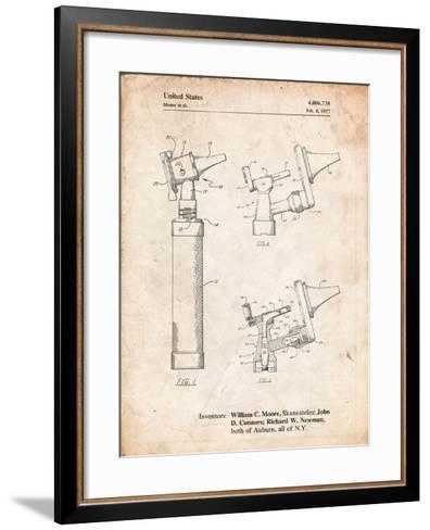 Otoscope Patent Print-Cole Borders-Framed Art Print