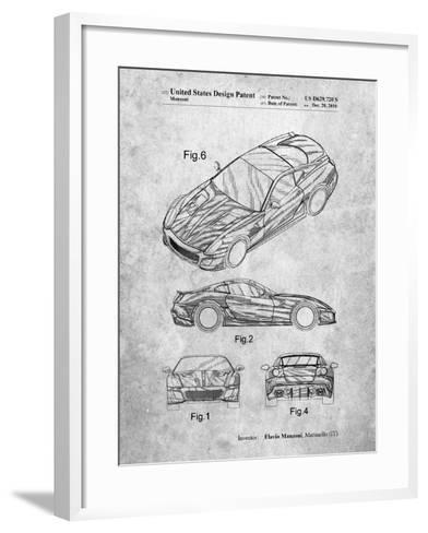 Exotic Sports Car Patent-Cole Borders-Framed Art Print