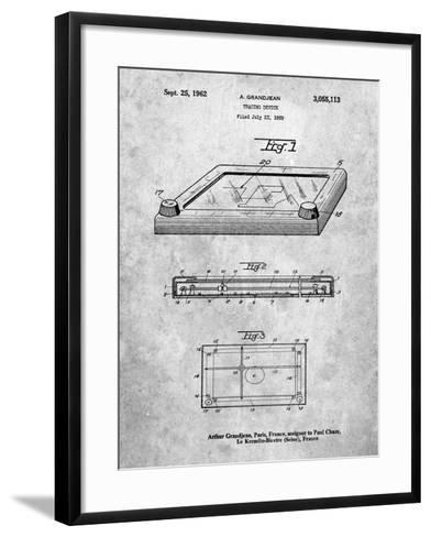 Etch a Sketch-Cole Borders-Framed Art Print