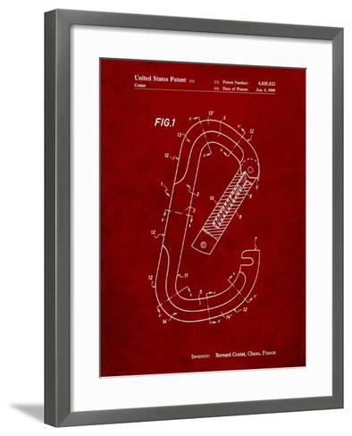 Oval Carabiner Patent-Cole Borders-Framed Art Print