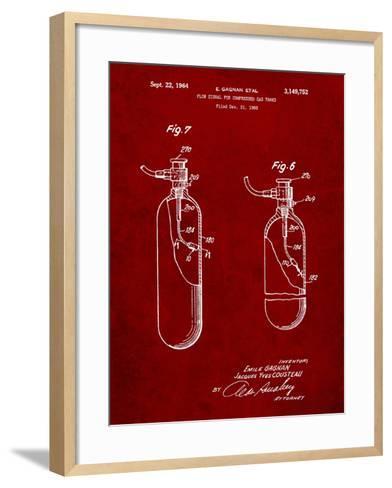 Oxygen Tank-Cole Borders-Framed Art Print