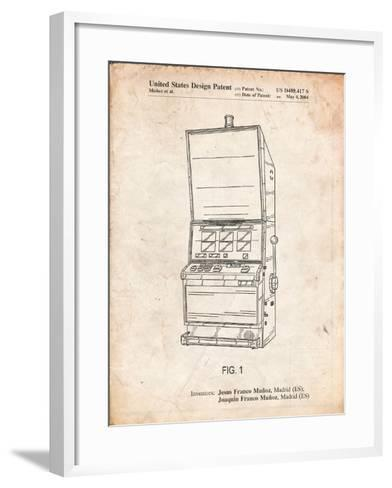 Slot Machine Patent-Cole Borders-Framed Art Print