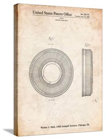 Kodak Carousel Patent-Cole Borders-Stretched Canvas Print