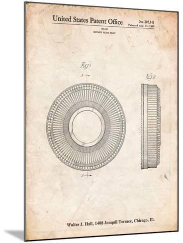 Kodak Carousel Patent-Cole Borders-Mounted Art Print