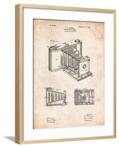 Kodak Pocket Folding Camera Patent-Cole Borders-Framed Art Print