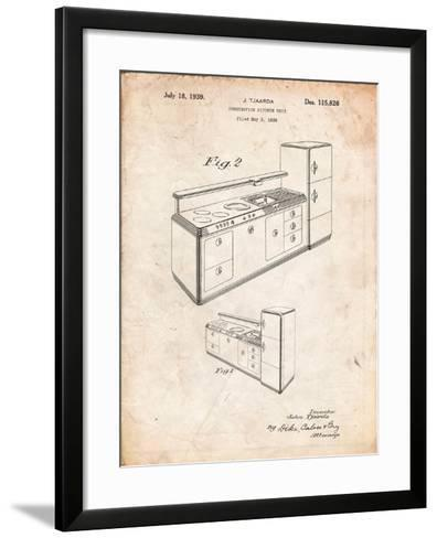 Kitchen Cabinets-Cole Borders-Framed Art Print