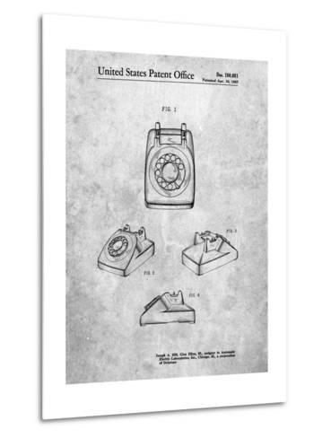 1960's Telephone-Cole Borders-Metal Print