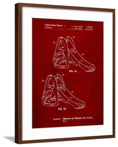 Slide-Cole Borders-Framed Art Print