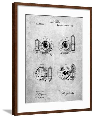 Asbury Frictionless Camera Shutter Patent-Cole Borders-Framed Art Print