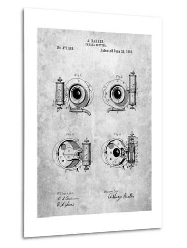 Asbury Frictionless Camera Shutter Patent-Cole Borders-Metal Print