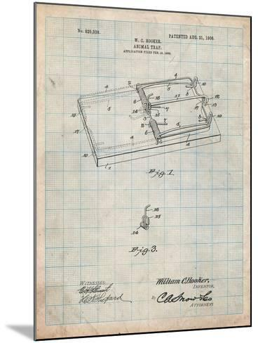 Rat Trap Patent Print-Cole Borders-Mounted Art Print