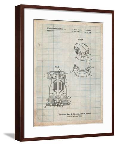 Porter Cable Palm Grip Sander Patent-Cole Borders-Framed Art Print
