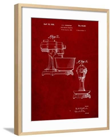 Kitchenaid Mixer Patent-Cole Borders-Framed Art Print