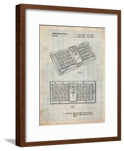 Hasbro Concept Game Patent-Cole Borders-Framed Art Print