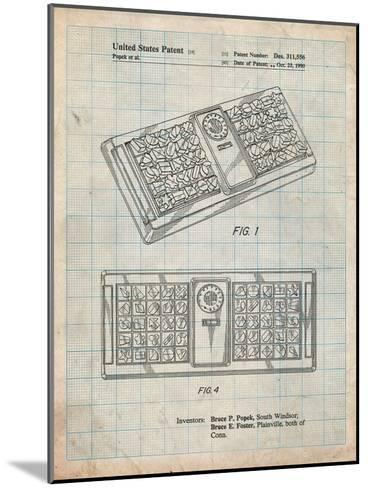 Hasbro Concept Game Patent-Cole Borders-Mounted Art Print