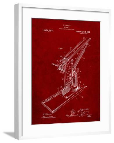 Catapult Patent 1921-Cole Borders-Framed Art Print