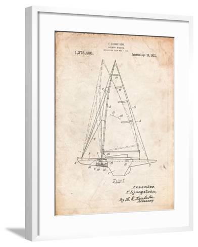 Ljungstrom Sailboat Rigging Patent-Cole Borders-Framed Art Print