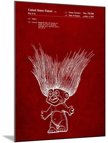 Troll Doll Patent-Cole Borders-Mounted Art Print