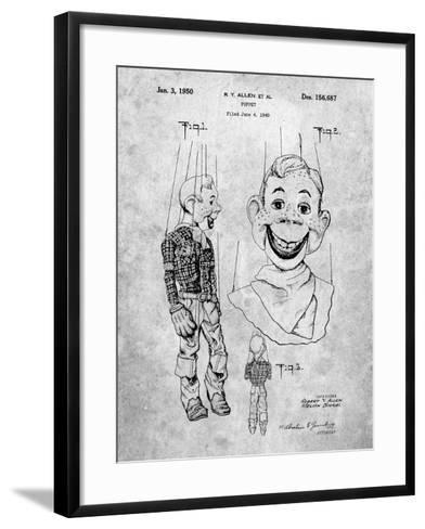 Puppet Patent-Cole Borders-Framed Art Print