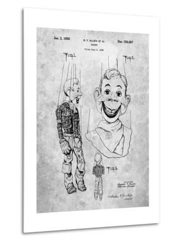 Puppet Patent-Cole Borders-Metal Print