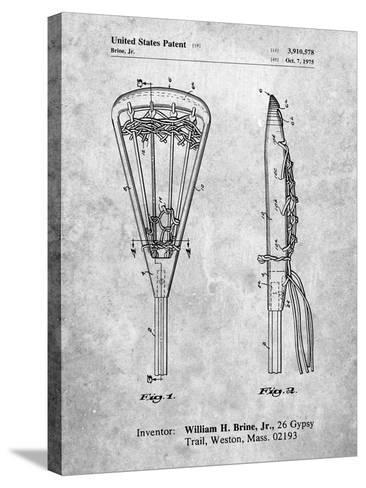 Lacrosse Stick 1936 Patent-Cole Borders-Stretched Canvas Print