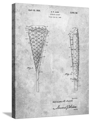 Lacrosse Stick 1935 Patent-Cole Borders-Stretched Canvas Print