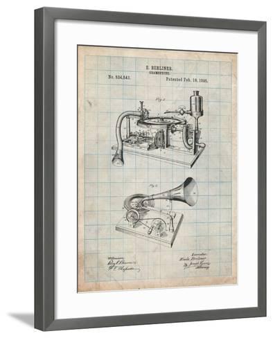 Berliner Gramophone-Cole Borders-Framed Art Print