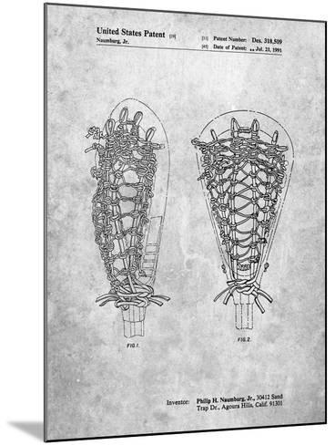 Lacrosse Stick Patent-Cole Borders-Mounted Art Print