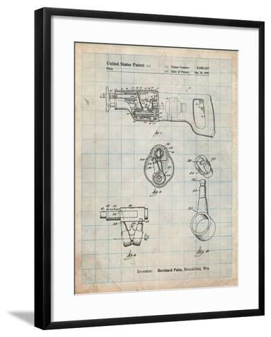 Milwaukee Reciprocating Saw Patent-Cole Borders-Framed Art Print
