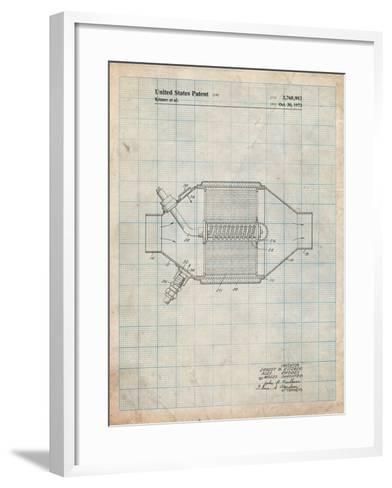 Ford Catalytic Converter-Cole Borders-Framed Art Print