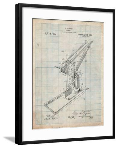Catapult Patent 1921-Cole Borders-Framed Art Print