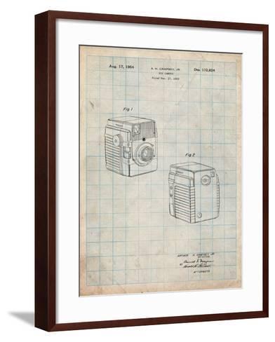 Kodak Brownie Bullseye 1954 Patent-Cole Borders-Framed Art Print