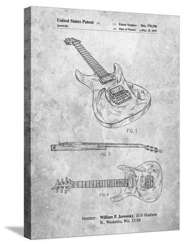 Ibanez Pro 540Rbb Electric Guitar Patent-Cole Borders-Stretched Canvas Print