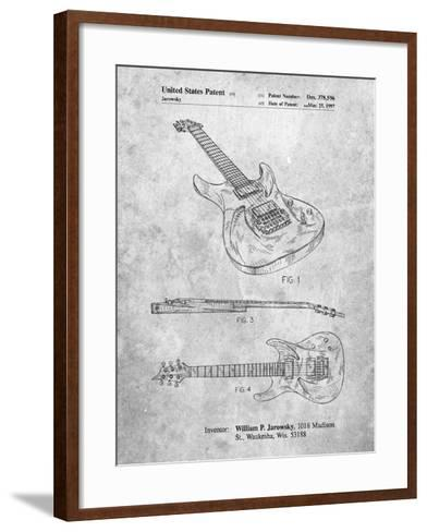 Ibanez Pro 540Rbb Electric Guitar Patent-Cole Borders-Framed Art Print