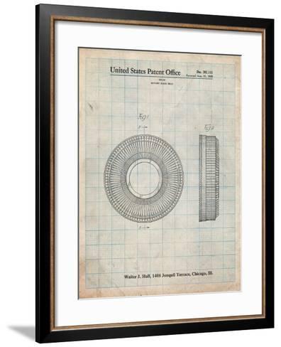 Kodak Carousel Patent-Cole Borders-Framed Art Print