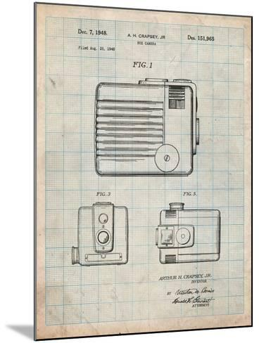 Kodak Brownie Hawkeye Patent-Cole Borders-Mounted Art Print