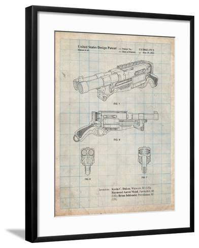 Toy Gun-Cole Borders-Framed Art Print