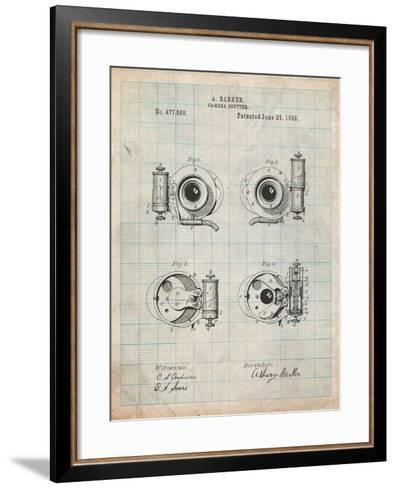 Asbury Frictionless Camera Shutter Patent-Cole Borders-Framed Art Print