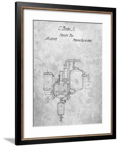 Milk Pasteurization Patent 1856-Cole Borders-Framed Art Print