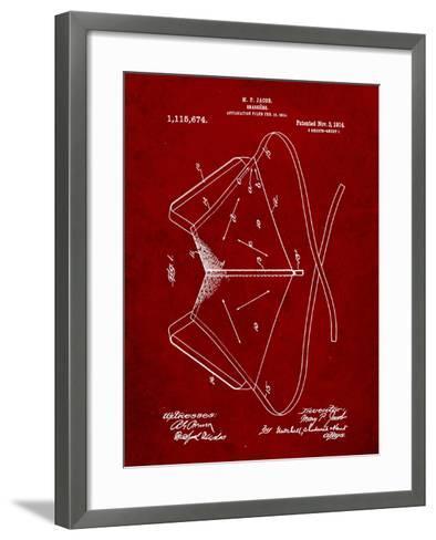 Brassiere Patent 1914-Cole Borders-Framed Art Print