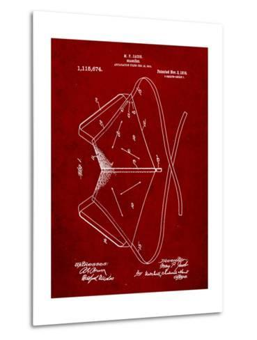 Brassiere Patent 1914-Cole Borders-Metal Print