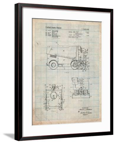 Ice Resurfacing Patent-Cole Borders-Framed Art Print