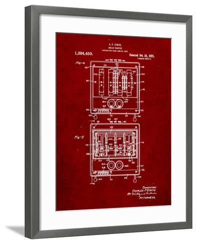 Bread Toaster Patent-Cole Borders-Framed Art Print