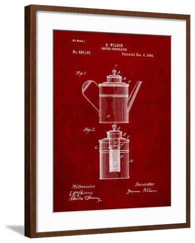 Coffee Percolator Patent-Cole Borders-Framed Art Print