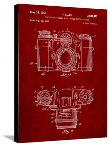 Photographic Camera Patent-Cole Borders-Stretched Canvas Print