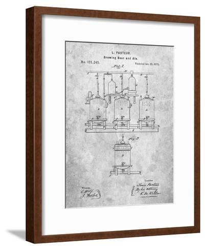 Brewing Beer Patent-Cole Borders-Framed Art Print